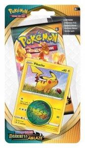 Pokemon TCG Karty Darkness Ablaze Checklane Blister Pikachu