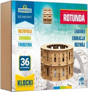 Egmont Kartonowe klocki konstrukcyjne Rotunda Cardblocks