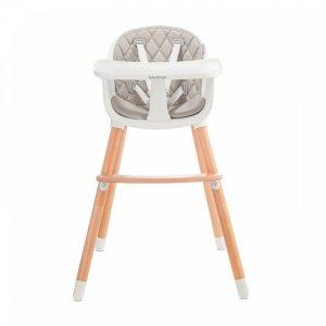 Baby Tiger Krzesełko do karmienia Tini Grey