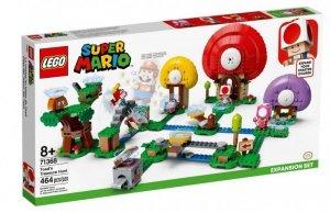 Klocki Super Mario Toad szuka skarbu - zestaw rozszerzający