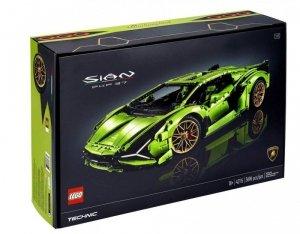 Klocki Technic Lamborghini  Sian FKP 37  42115
