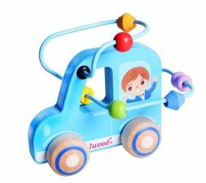 iWood Przeplatanka labirynt drewniana Samochód
