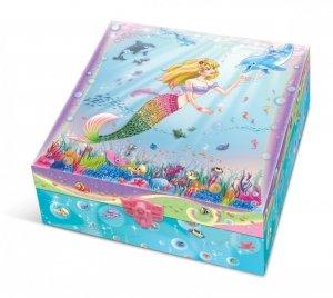 Pulio Pecoware Pudełko z pamiętnikiem i akcesoriami Syrenka