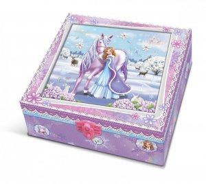 Pulio Pecoware Pudełko z pamiętnikiem i akcesoriami Koń