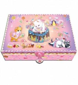 Pulio Pecoware Zestaw w pudełku z pamiętnikiem Kotek