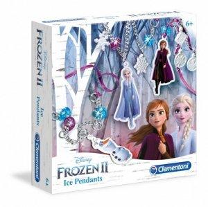 Clementoni Zestaw kreatywny Wisiorki z lodem  Frozen