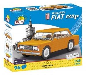 Cobi Klocki Klocki Youngtimer Polski Fiat 1 25P 96 elementów