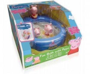 Tm Toys Zestaw do kąpieli z siatką Świnka Peppa