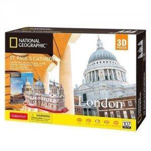 Cubicfun Puzzle 3D Katedra św. Pawła National Geographic