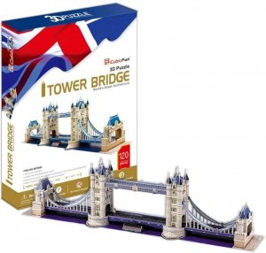 Cubic Fun Puzzle 3D Tower Bridge