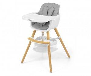 Krzesełko do karmienia 2w1 Espoo Grey