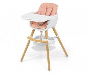 Krzesełko do karmienia 2w1 Espoo Pink