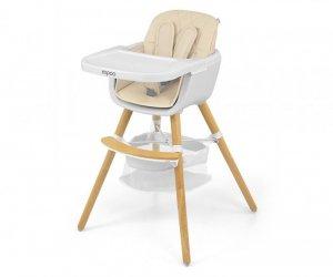 Krzeselko do karmienia 2w1 Espoo Beige