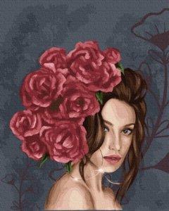 Symag Obraz Malowanie po numerach Pani róża