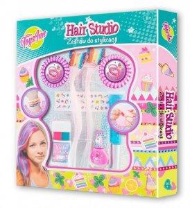 Stnux Zestaw do włosów Hair studio z pasemkami