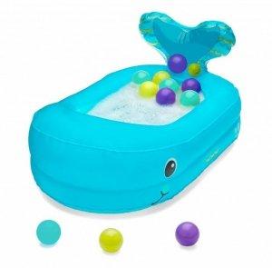 B-kids Infantino Basen z piłkami - Wieloryb