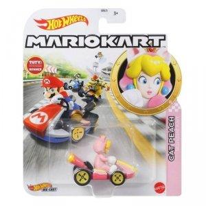 Hot Wheels Pojazd podstawowy Mario Kart Cat Peach