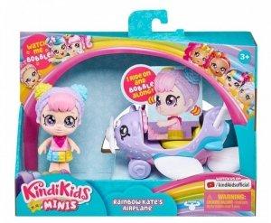 Tm Toys Pojazd Kindi Kids Mini Samolot Rainbow Kate