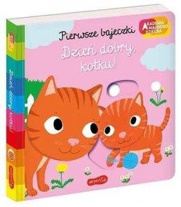 Harper Collins Książeczka Pierwsze bajeczki Akademia Mądrego Dziecka Dzień dobry, kotku!