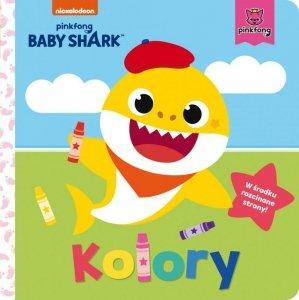 Wydawnictwo Słowne Książeczka kartonowa Baby Shark. Kolory