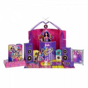 Mattel Lalka Barbie Color Reveal Impreza Duży zestaw