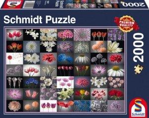 Schmidt Puzzle 2000 elementów Kwiatowe inspiracje