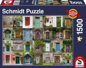 Schmidt Puzzle 1500 elementów Drzwi