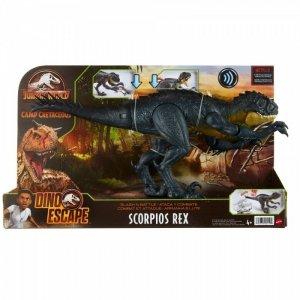 Mattel Figurka Park Jurajski Scorpius Rex Atak szponami