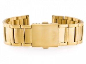 Bransoleta Bisset (bb002b) - złota 20mm