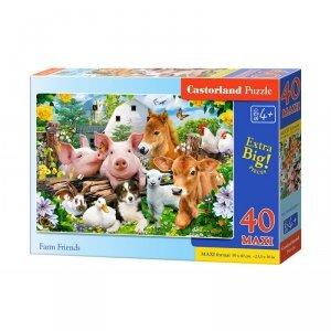 Puzzle 40el.maxi farm friends