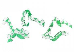 Układanka Logiczna Wąż Rubika Magia 62 cm Zielony