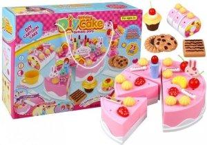 Zestaw Przyjęcie Urodzinowe Tort Do Krojenia Deser