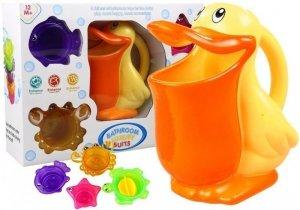 Zabawka do Kąpieli Pelikan Foremki Zwierzątka