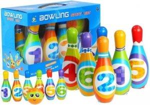 Kręgle z Cyferkami  Bowling Dla Malucha Piankowe