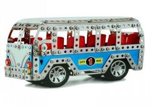 Klocki Konstrukcyjne Autobus Miejski 443 Elementy