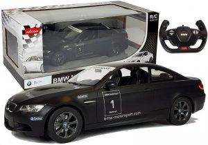 Auto R/C BMW M3 Rastar 1:14 Czarny na Pilota