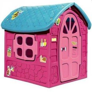 Domek Zestaw Ogrodowy Duży Dom dla Dzieci 5075 Różowy