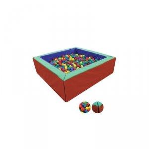 Suchy Basen 200x200x60cm + Piłki do Basenu 4500 sztuk
