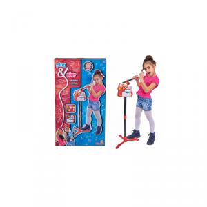 Simba Zestaw Muzyczny 2W1 Plug&Play Karaoke Mikrofon