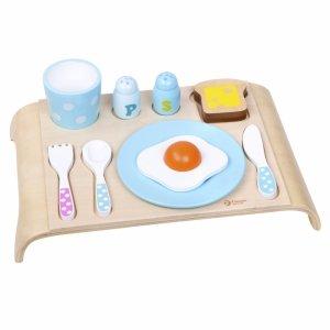 CLASSIC WORLD Drewniany Zestaw Śniadaniowy