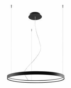 Żyrandol RIO 78 czarny LED 3000K