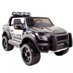 FORD RANGER F150RP POLICJA  LICENCJA, MIĘKKIE KOŁA EVA, MIĘKKIE SIEDZENIE, WOLNY START, KLUCZYK FULL OPCJA 12V
