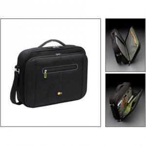 Case Logic PNC216 Fits up to size 16 , Black/Green, Shoulder strap