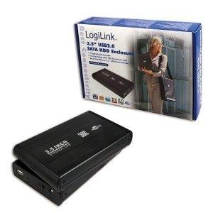 Logilink 3.5 SATA Enclosure 3.5, SATA, USB 2.0