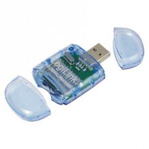 Logilink CR0015B Cardreader USB 2.0 Stick, SD & Micro SD Format