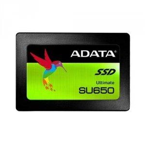 ADATA Ultimate SU650 ASU650SS-240GT-R 240 GB, SSD form factor 2.5, SSD interface SATA, Write speed 450 MB/s, Read speed 520 MB/