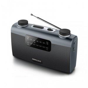 Muse Portable radio M-058R Black, AUX in