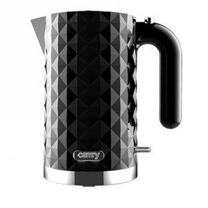 Camry CR 1269 Standard kettle, Plastic, Black, 2200 W, 360° rotational base, 1.7 L