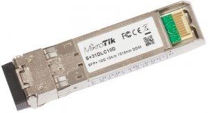 MikroTik S+31DLC10D SFP+, Single-Mode Fiber, Dual LC, 10/100/1000/10000 Mbit/s, Wavelength 1310 nm, Maximum transfer distance 10