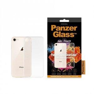 PanzerGlass 0190 0192 Apple, Apple iPhone 7/8, Plastic, Transparent, Back cover